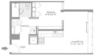 1 Bedroom, Stapleton Rental in NYC for $1,843 - Photo 2