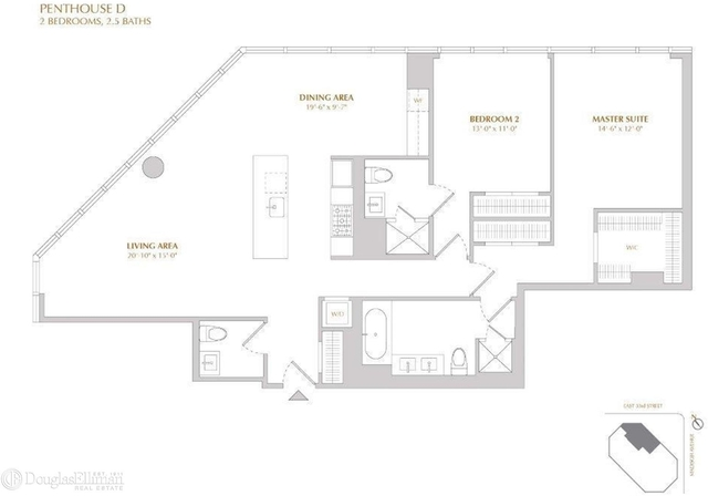 2 Bedrooms, Murray Hill Rental in NYC for $13,385 - Photo 2