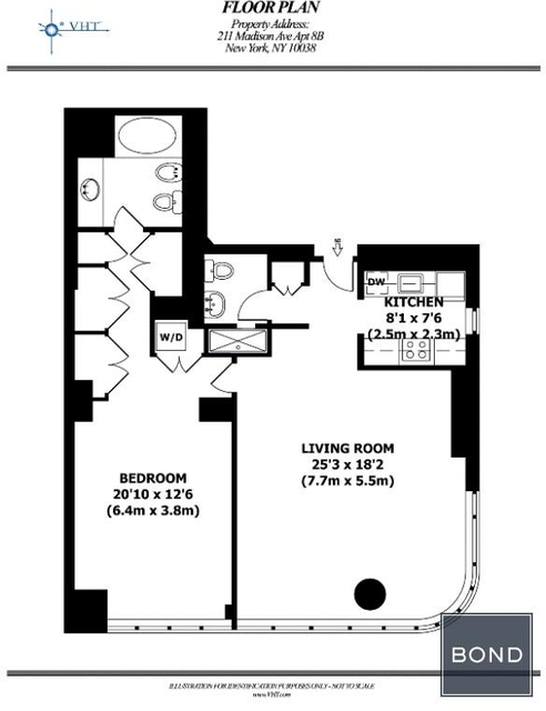 1 Bedroom, Murray Hill Rental in NYC for $4,950 - Photo 2