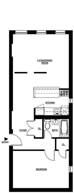 2 Bedrooms, Rose Hill Rental in NYC for $3,270 - Photo 2