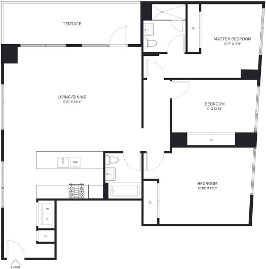 2 Bedrooms, Boerum Hill Rental in NYC for $4,100 - Photo 2