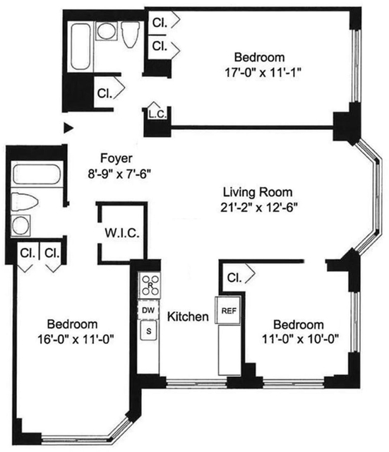 3 Bedrooms, Yorkville Rental in NYC for $5,866 - Photo 2