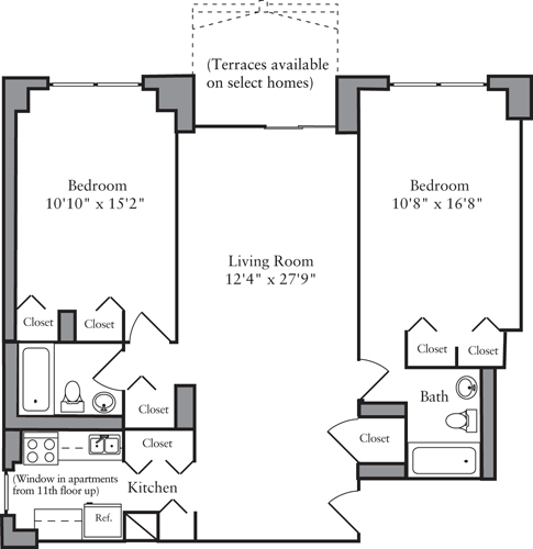 2 Bedrooms, Yorkville Rental in NYC for $5,730 - Photo 2