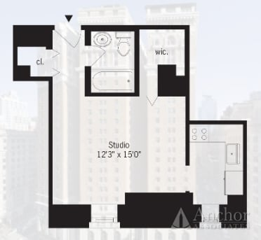 Studio, Koreatown Rental in NYC for $2,501 - Photo 2