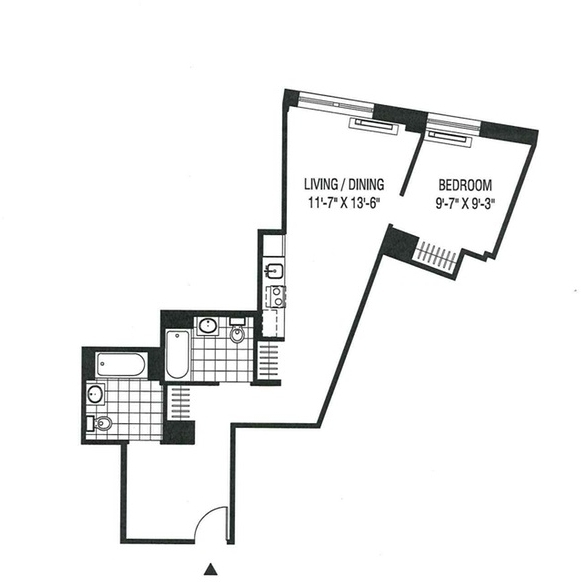 1 Bedroom, Financial District Rental in NYC for $3,083 - Photo 2