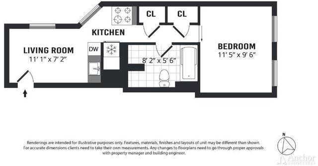 1 Bedroom, NoLita Rental in NYC for $3,445 - Photo 2