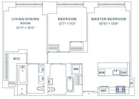 2 Bedrooms, Yorkville Rental in NYC for $8,063 - Photo 2
