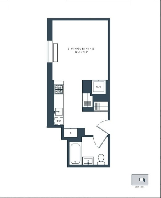 Studio, Financial District Rental in NYC for $2,857 - Photo 2