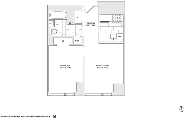 1 Bedroom, Financial District Rental in NYC for $3,590 - Photo 2