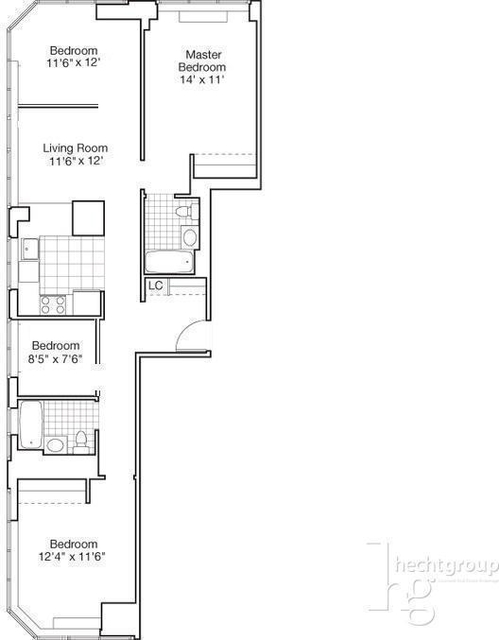 4 Bedrooms, Garment District Rental in NYC for $5,600 - Photo 2
