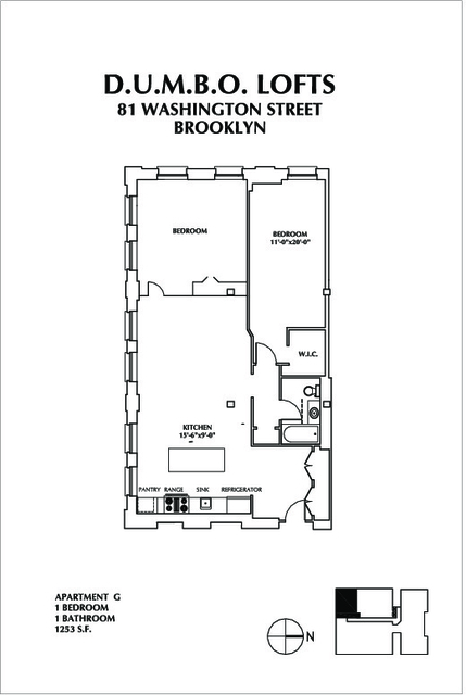 2 Bedrooms, DUMBO Rental in NYC for $5,679 - Photo 2