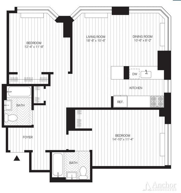 2 Bedrooms, Yorkville Rental in NYC for $5,345 - Photo 2