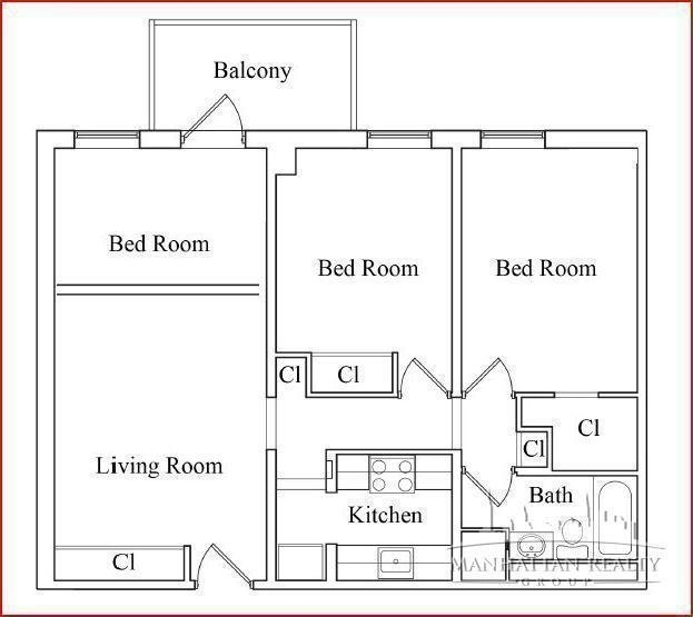 3 Bedrooms, Two Bridges Rental in NYC for $4,150 - Photo 2