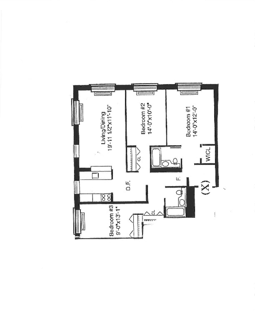 3 Bedrooms, Battery Park City Rental in NYC for $8,300 - Photo 2