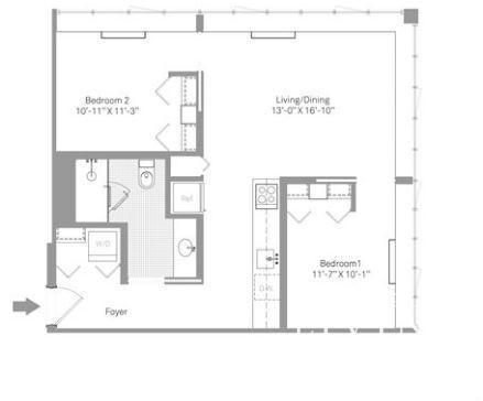 2 Bedrooms, Stapleton Rental in NYC for $2,999 - Photo 2