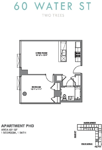 1 Bedroom, DUMBO Rental in NYC for $4,795 - Photo 2