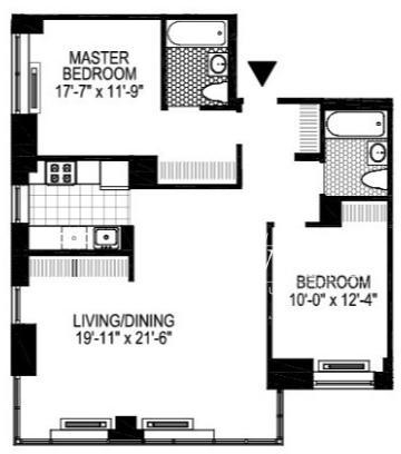 3 Bedrooms, Financial District Rental in NYC for $6,030 - Photo 2