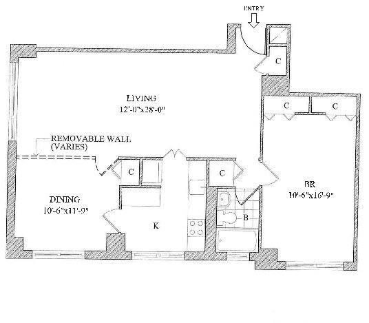 1 Bedroom, Yorkville Rental in NYC for $4,590 - Photo 2