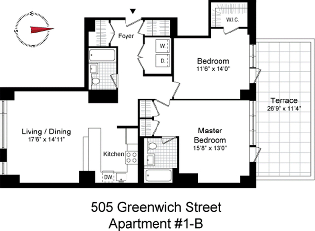 2 Bedrooms, Hudson Square Rental in NYC for $9,450 - Photo 2
