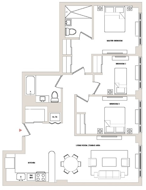 3 Bedrooms, DUMBO Rental in NYC for $6,692 - Photo 2