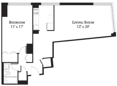 1 Bedroom, Central Park Rental in NYC for $3,250 - Photo 2