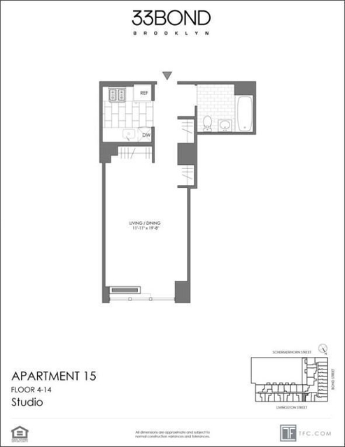 Studio, Downtown Brooklyn Rental in NYC for $2,300 - Photo 2