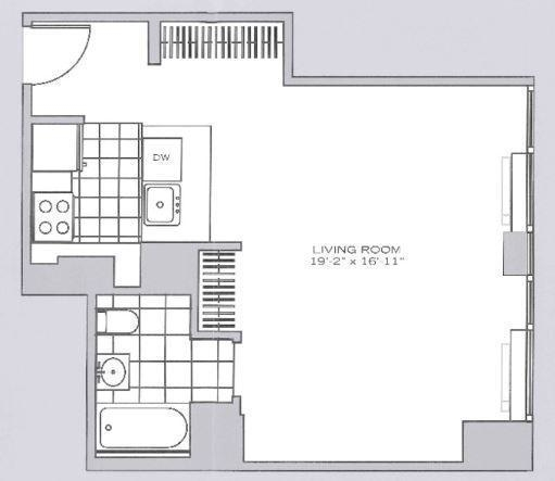 Studio, Garment District Rental in NYC for $2,390 - Photo 2