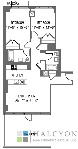 2 Bedrooms, Williamsburg Rental in NYC for $6,450 - Photo 2