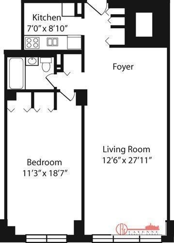 2 Bedrooms, Yorkville Rental in NYC for $3,226 - Photo 2