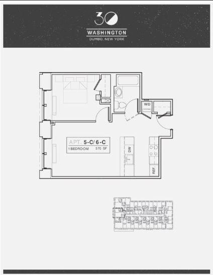 1 Bedroom, DUMBO Rental in NYC for $3,795 - Photo 1