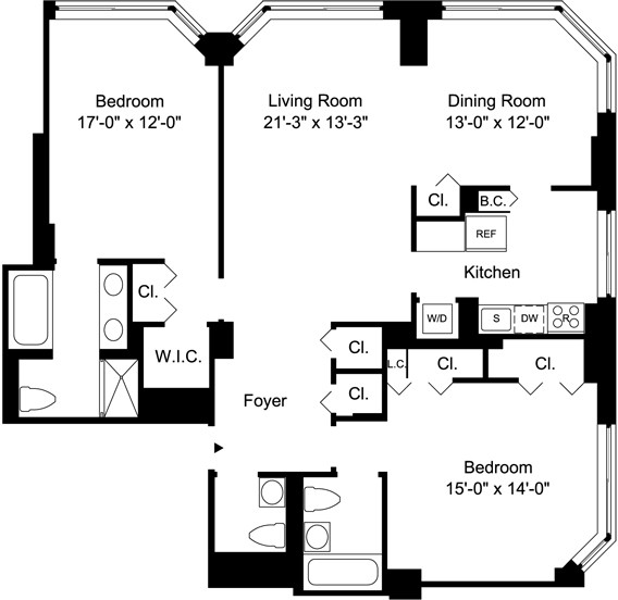 2 Bedrooms, Yorkville Rental in NYC for $8,595 - Photo 2
