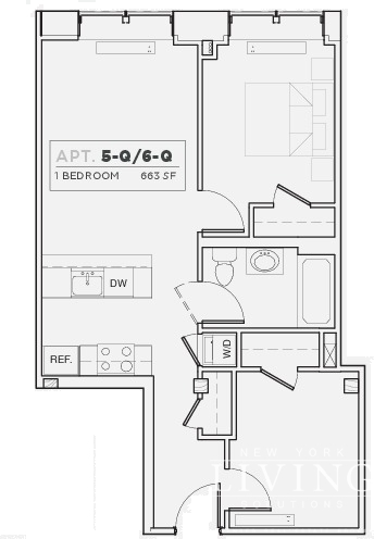 2 Bedrooms, DUMBO Rental in NYC for $4,200 - Photo 2