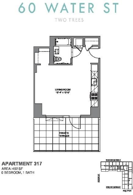 Studio, DUMBO Rental in NYC for $3,495 - Photo 2