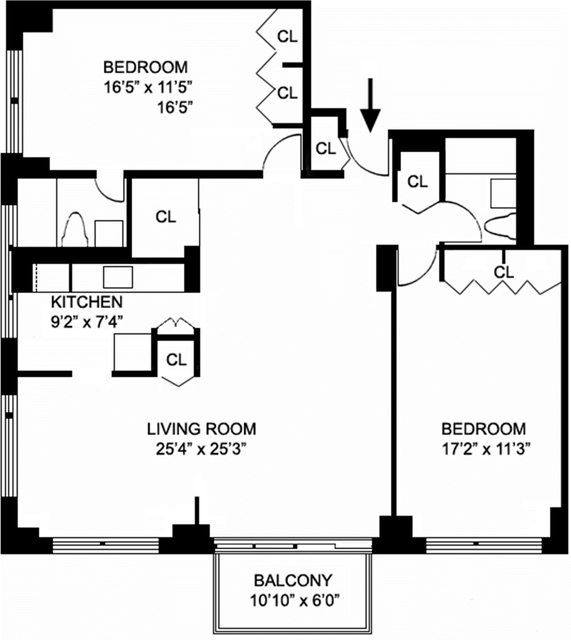 2 Bedrooms, Yorkville Rental in NYC for $5,366 - Photo 2