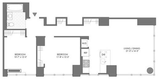 2 Bedrooms, Astoria Rental in NYC for $6,615 - Photo 1