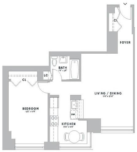 1 Bedroom, Upper West Side Rental in NYC for $3,666 - Photo 2