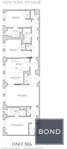 3 Bedrooms, Upper East Side Rental in NYC for $12,995 - Photo 2