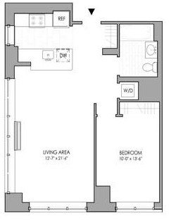 2 Bedrooms, Hell's Kitchen Rental in NYC for $3,387 - Photo 2