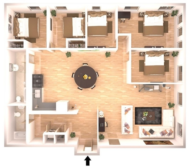 5 Bedrooms, Financial District Rental in NYC for $7,100 - Photo 1