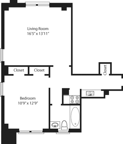 1 Bedroom, Lincoln Square Rental in NYC for $4,385 - Photo 2