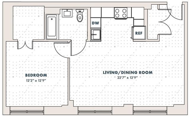 1 Bedroom, Rego Park Rental in NYC for $2,305 - Photo 2