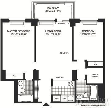 2 Bedrooms, Roosevelt Island Rental in NYC for $3,155 - Photo 2