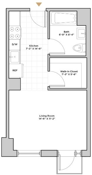 Studio, Hunters Point Rental in NYC for $2,235 - Photo 2