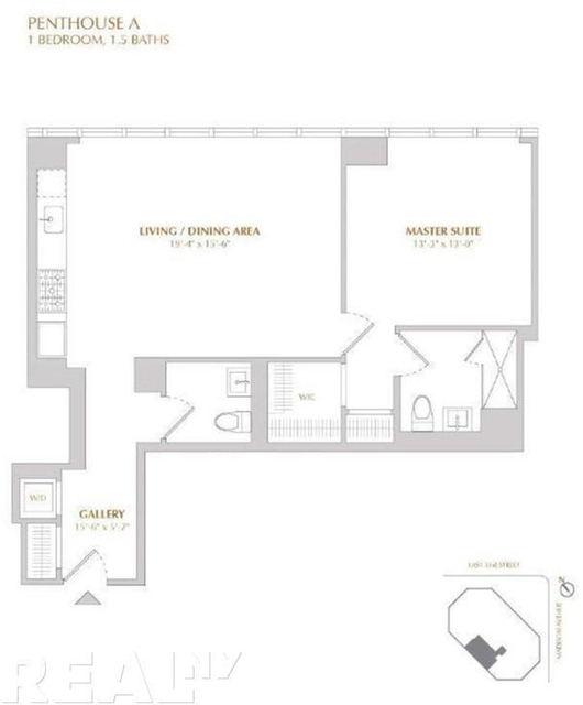 1 Bedroom, Murray Hill Rental in NYC for $6,326 - Photo 2
