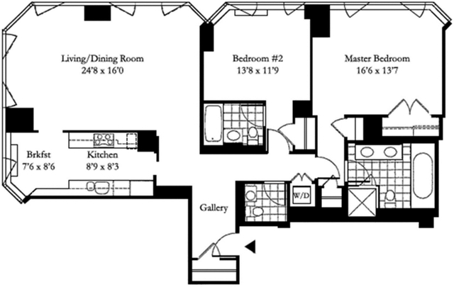2 Bedrooms, Sutton Place Rental in NYC for $7,980 - Photo 2