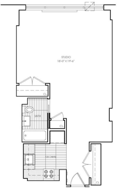 Studio, Upper West Side Rental in NYC for $3,020 - Photo 1