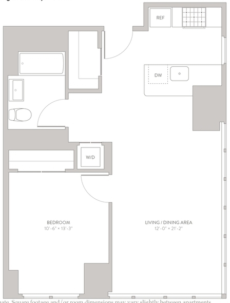 1 Bedroom, Long Island City Rental in NYC for $3,595 - Photo 2