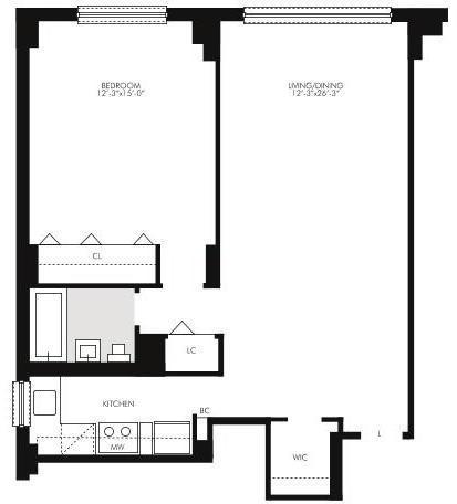 2 Bedrooms, Kips Bay Rental in NYC for $3,314 - Photo 2