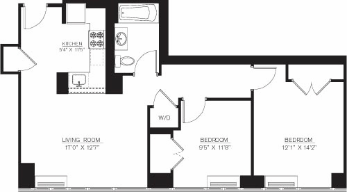 2 Bedrooms, Downtown Brooklyn Rental in NYC for $4,610 - Photo 1