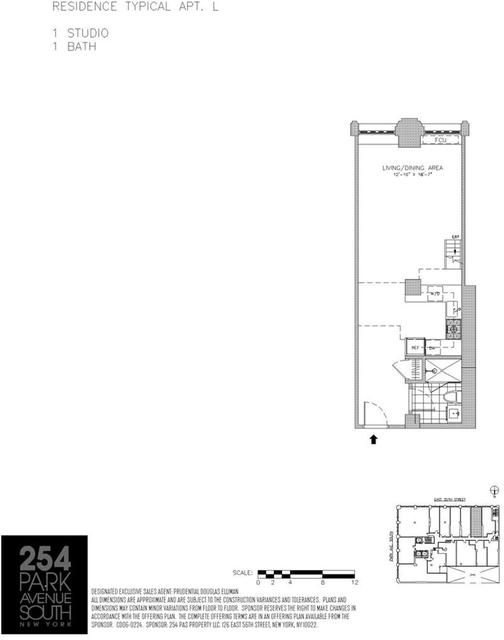 Studio, Flatiron District Rental in NYC for $4,500 - Photo 2